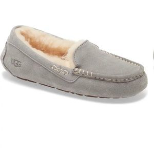 UGG Ansley Suede Water Resistant Slipper 5 3312